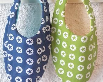 Set of 2 bandanas waterproof child bib