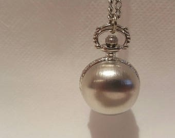Ball Pocket Watch necklace