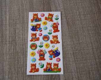 stickers scrapbooking bear stickers