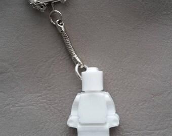 White resin key man toy