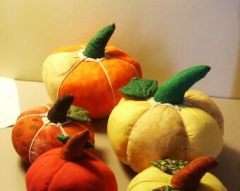 pumpkin for Halloween, cotton fabric