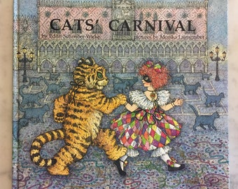 Vintage children's cat books from 1980's!