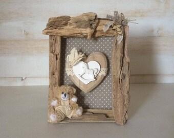 Driftwood for frame
