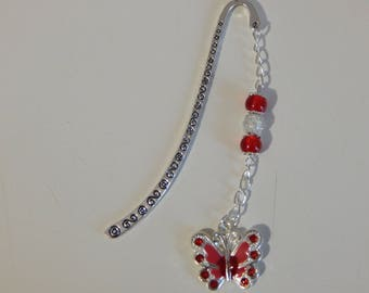 Gorgeous red bookmark