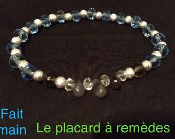 Bracelet Iolite drop A grade