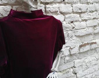 T shirt Vintage 90's Velvet