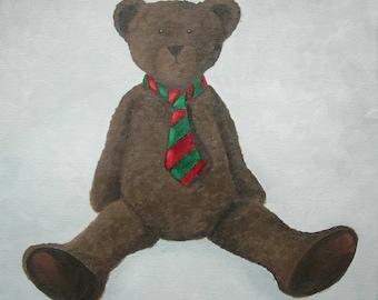 CANVAS Teddy bear children's bedroom - Ref. Tie