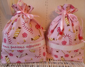 "Bag ""my small business"" + bag customize-J' like candy"