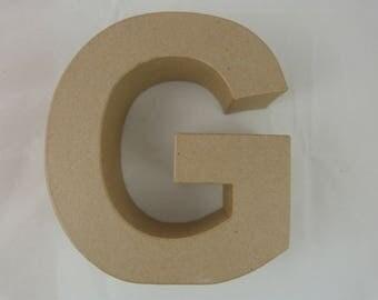 "3D decoration for home decor ""G"" letter"