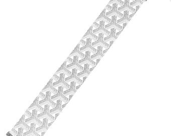 Goyard Wide Fashion Choker