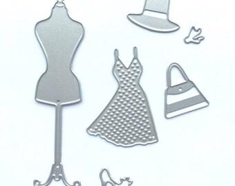 Die pack manequin for machine cutting