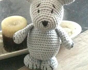 little bear plush 100% cotton