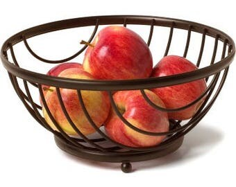 Round Fruit Basket