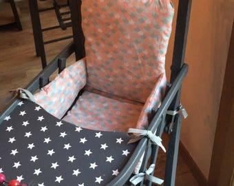 High chair cushion