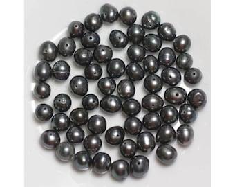 Cultured 6-7mm black - 10pc 4558550037190 bag