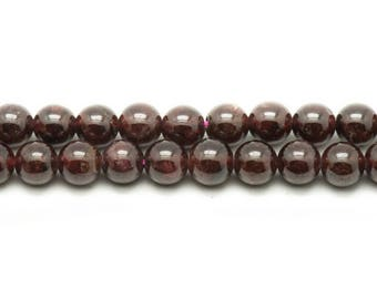 Beads - Garnet 6mm - 10 pc 4558550037244 bag