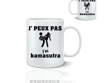 Kamasutra sex - ceramic mug mug 325 ml
