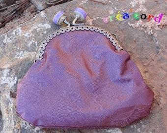 wallet style retro clip clasp