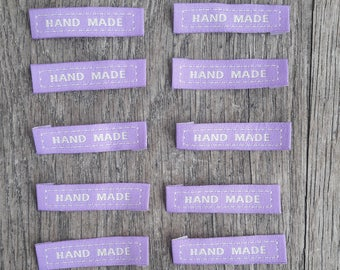 Set of 10 sewing Handmade, purple / / ID N47