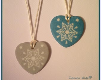 2 tags, customizable, star pattern, gray and green taffeta