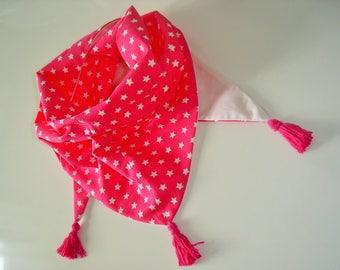 Scarf/shawl, scarf, scarf color star child