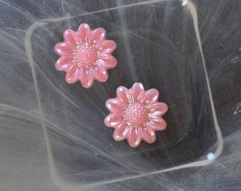 rose cabochon flower scrapbooking