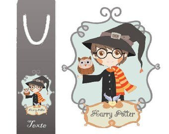 "BRAND PAGES ""harry potter"" personalized"