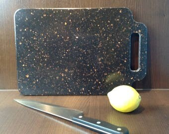 Corian Chopping Board Brown With Gold Fleck Small