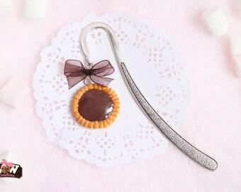 Bookmarks - chocolate tart