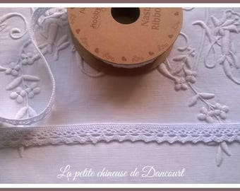 Spool of 3 m n4 white lace