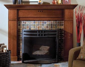 Wood fireplace mantel shelf mantle surround craftman fireplace mantel surround