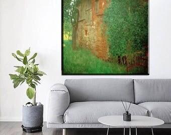 """Gustav Klimt """"Home"""""""