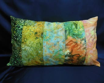 "Large cushion collection ""Indian summer"", rectangle, 5 bands (CG264)"