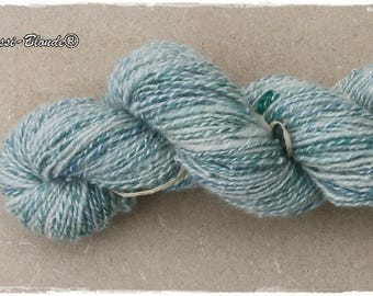 Handspun Merino Wool. Handgesponnene wolle.