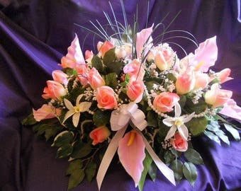 With roses for a wedding table centerpiece or as a gift