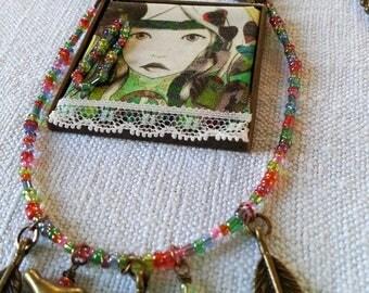 Necklace Bohemian Gypsy Bohemian Girl Collection