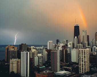Photograph of Chicago Storm