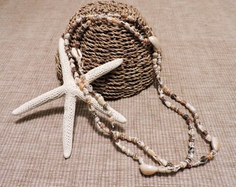 Vintage Sea Shell Necklace