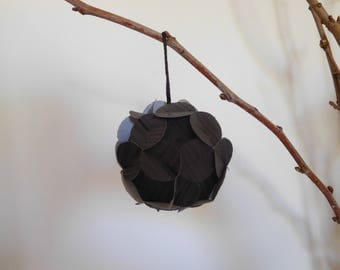 """6 decorative flowers in a KIT to make origami """"Customizable"""""""