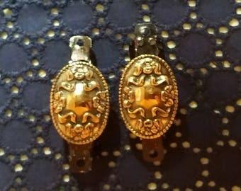 Vintage Earring Barrettes