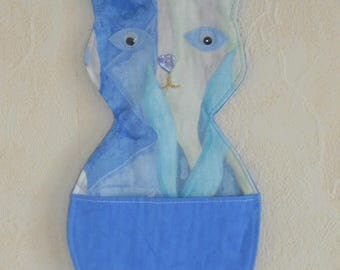Empty pockets wall Blue Cat