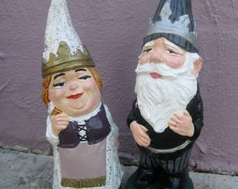 Wedding Gnomes (pair)