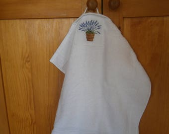 "Hand towel ""Scents of lavender"""