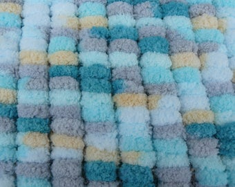 very soft multicolored baby blanket