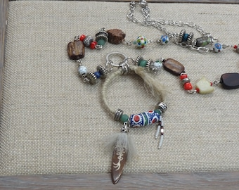 NATIVE AMERICAN INSPIRED NECKLACE