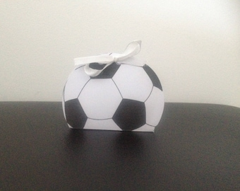 Soccer candy boxes