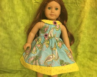 "Flutterby 18""doll Dress"