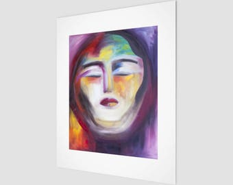 Warrior Goddess Fine Art Print | Goddess Hanging Wall Art | Eccentric Home Accents