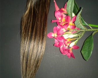 """Clip in14"""" 7pc 70gr Remy human hair extensions"""