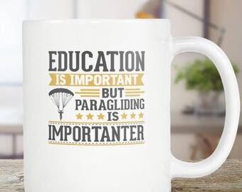 Paragliding Coffee Mug Funny Gift Idea